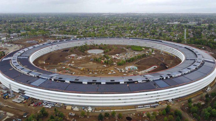 Der neue Unternehmenssitz von Apple