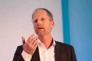 Cord Brügmann stellte die Zukunftsstudie des DAV vor