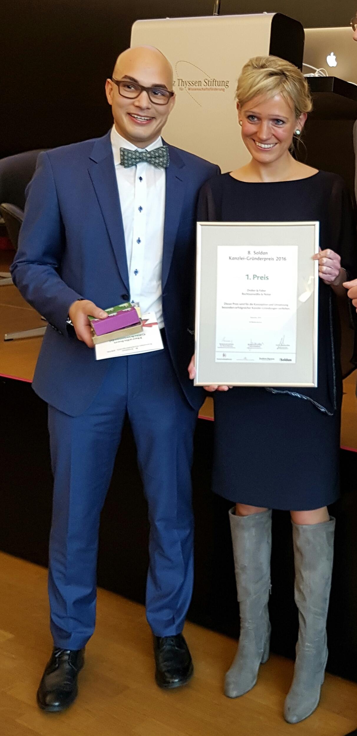 Rechtsanwältin Ann-Kathrin Dreber und Rechtsanwalt und Notar Dr. Kevin Faber