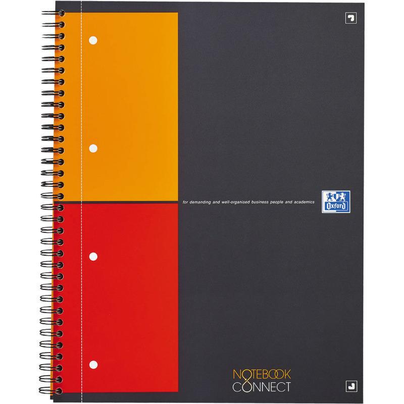 oxford international notebook connect kariert g nstig. Black Bedroom Furniture Sets. Home Design Ideas
