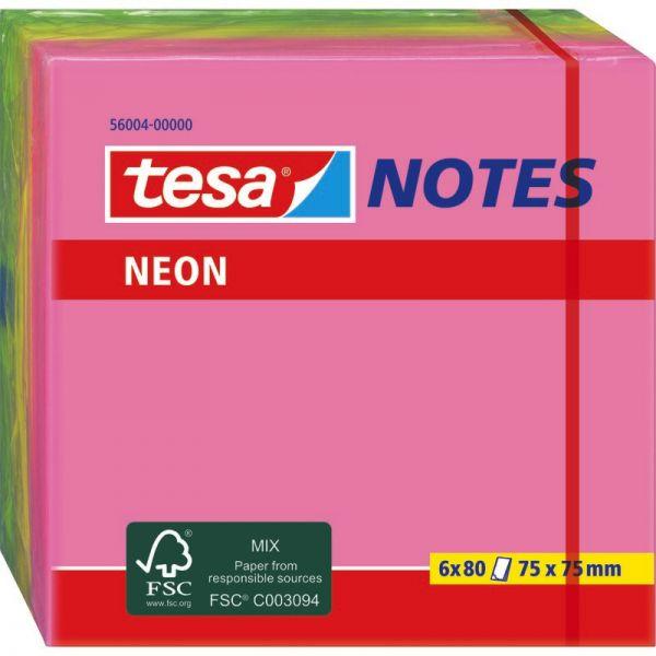 600  Haftnotizen neon grün 40 x50 Klebezettel notes
