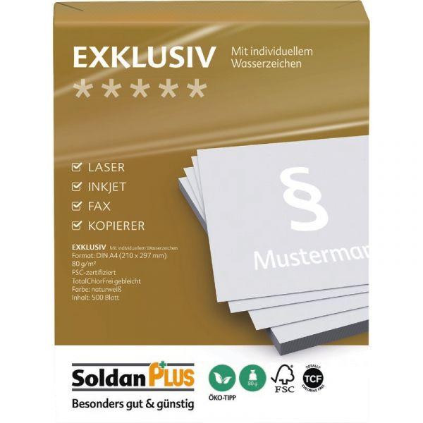 193 x 58 mm Papier permanent 500 Ordnerrücken Etiketten DIN A4 weiß