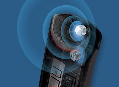 olympus-rec-mic-II-zwei-mikrofonen-system