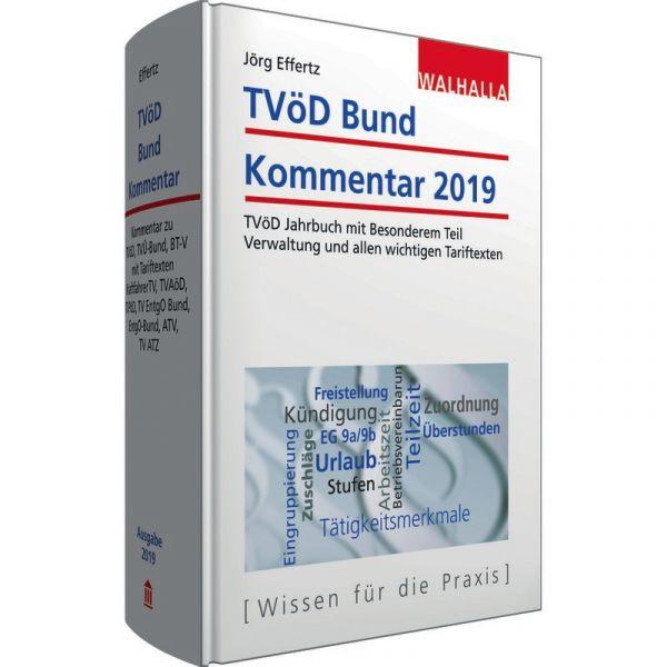 Tvöd Bund Kommentar 2019 Effertz 1 Auflage 2018