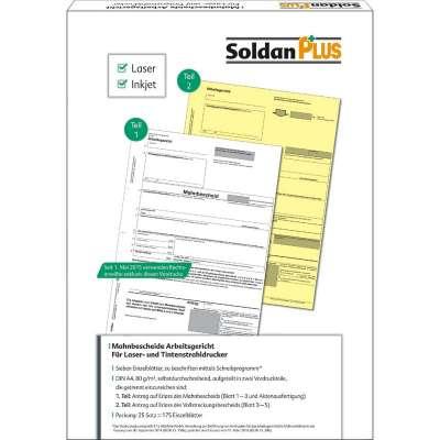 Soldanplus Mahnbescheid Arbeitsgericht Für Drucker