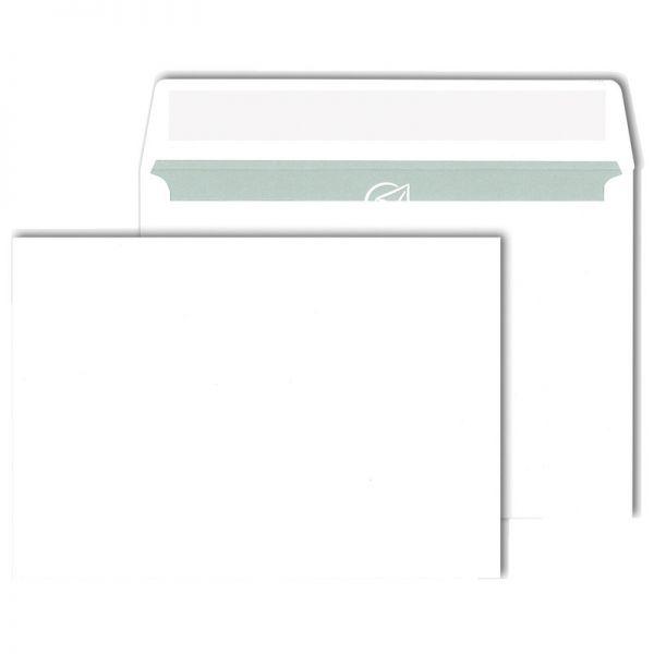 Briefumschlag Din C6 114 X 162 Mm Haftklebend Weiß 80 Gm²