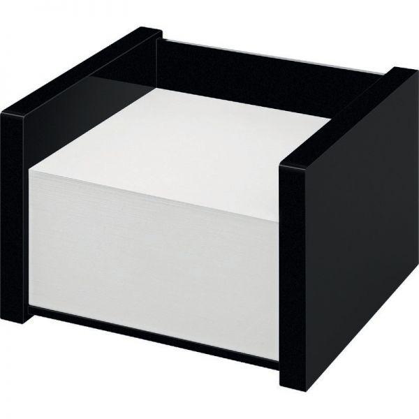 Wedo Acryl Zettelbox Black Office 500 Blatt