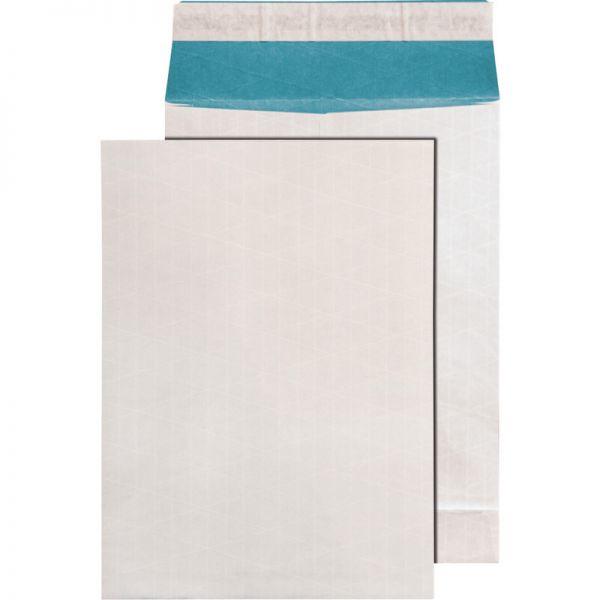 100 Faltentaschen 140g Versandtaschen DIN C4 weiß