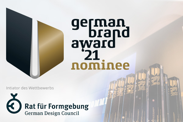 German Brand Award 21 – Nominee