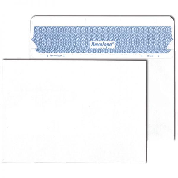 Briefumschlag Revelope Din C5 162 X 229 Mm Haftklebend Weiß 80