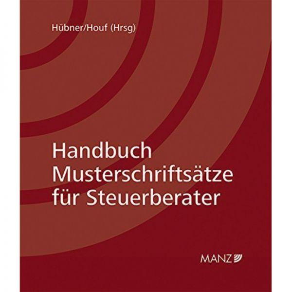 Handbuch Musterschriftsätze Für Steuerberater österreich Mit