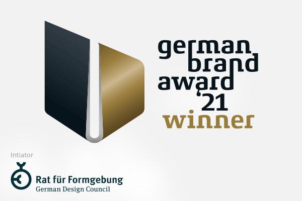 German Brand Award 21 – Gold und Winner