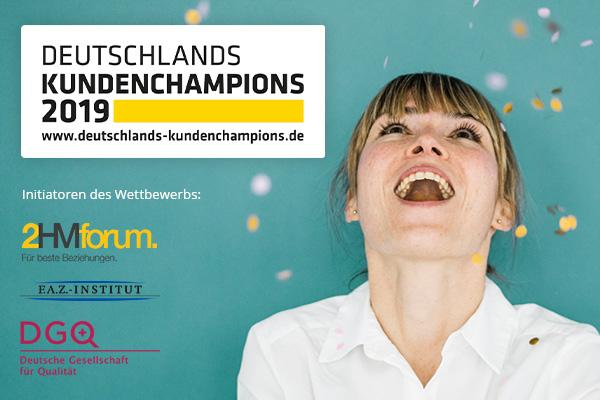 Deutschlands Kundenchampions 2019